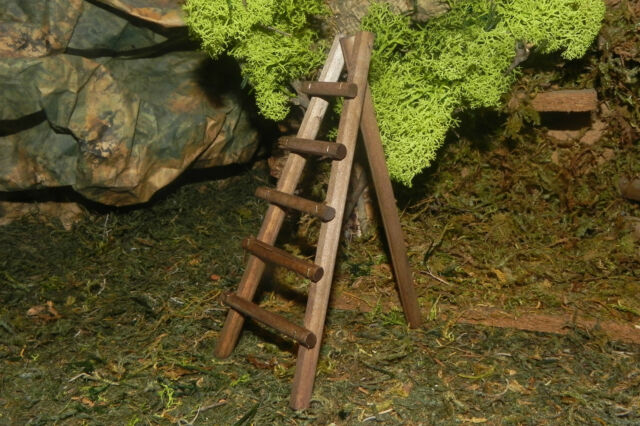 Nativity Set Accessory Ladder Presepio Pesebre Creche Manger Scene Diorama