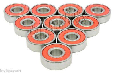 Lot of 10 Ultra Low Friction 608V 8mm x 22mm x 7mm 608VV Miniature Ball Bearings