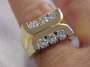 1.00 ctw 18k F-VVS Kurt Wayne Designer Ring size 7 24 grams Make Offer