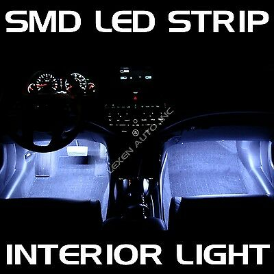 """LED W3 WHITE 2X 12"""" INTERIOR STRIP FOOTWELL LIGHT UNDER DASH BULB SMD EXTERIOR a"""