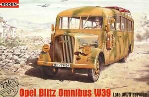 Tala-de-arboles-OPEL-BLITZ-Bus-omnibus-w39-blitzbus-Modelo-Equipo-construccion