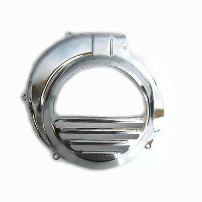 Vespa PX150 Disc Quality Chrome Electric Start Flywheel Cover Cowling