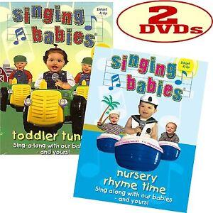 Image Is Loading Singing Babies Nursery Rhyme Time Amp Toddler Tunes