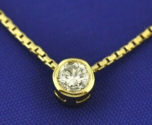 0-25-ct-SOLITAIRE-DIAMOND-NECKLACE-YELLOW-GOLD-BEZEL-18k-made-in-USA