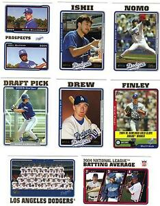 2005-TOPPS-LOS-ANGELES-DODGERS-TEAM-SET-Billingsley-LaRoche-Drew-Finley-Gagne-25