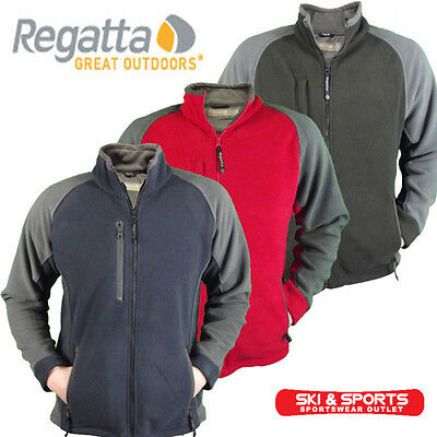 Regatta Karlson II Mens 2 Colour Full Zip Polar Fleece Jacket S M L XL XXL XXXL
