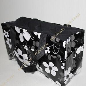 Black-Diaper-Nappy-Bag-Storage-Organizer-Bag-In-Bag-Handbag-Mummy-Bag-JK6B