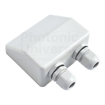 Waterproof double cable entry gland for solar panels/ motorhomes /caravans/boats