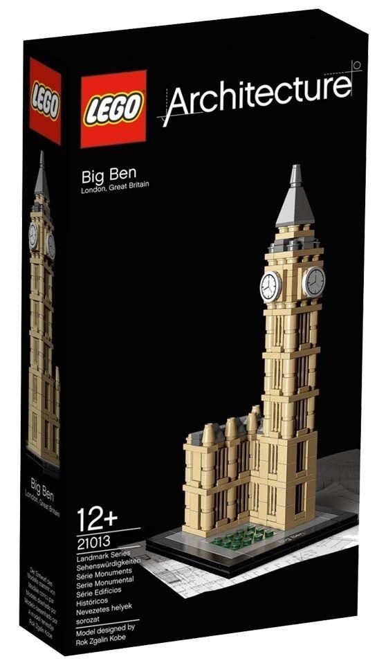 Lego Arquitectura Big Ben (21013)
