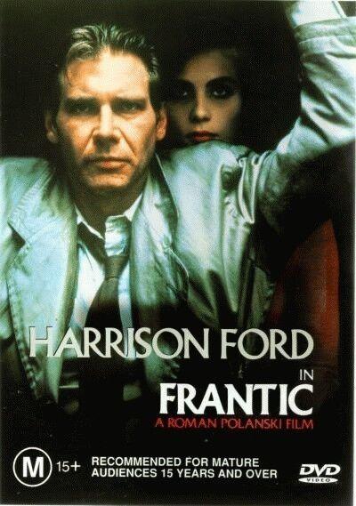 Frantic (DVD, 2000), Directed by Roman Polanski, Starring: Harrison Ford