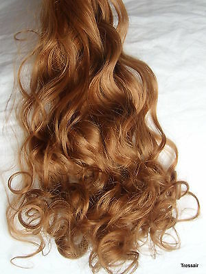 """24"""" Clip in Hair Extensions Curly Wavy Strawberry Blonde #27 One Piece"""