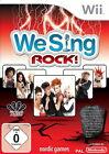 We Sing: Rock (Nintendo Wii, 2011, DVD-Box)