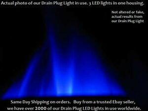 Blue-LED-BOAT-DRAIN-PLUG-FLOOD-LIGHT-10w-LED-Underwater-Brass-Garboard-1-2-034-NPT
