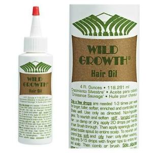 Wild Growth Hair Oil 100 Natural Ingredients Detangle
