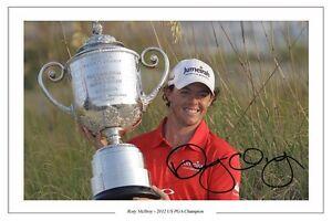 RORY-MCILROY-US-PGA-CHAMP-GOLF-2012-SIGNED-AUTOGRAPH-PHOTO-PRINT