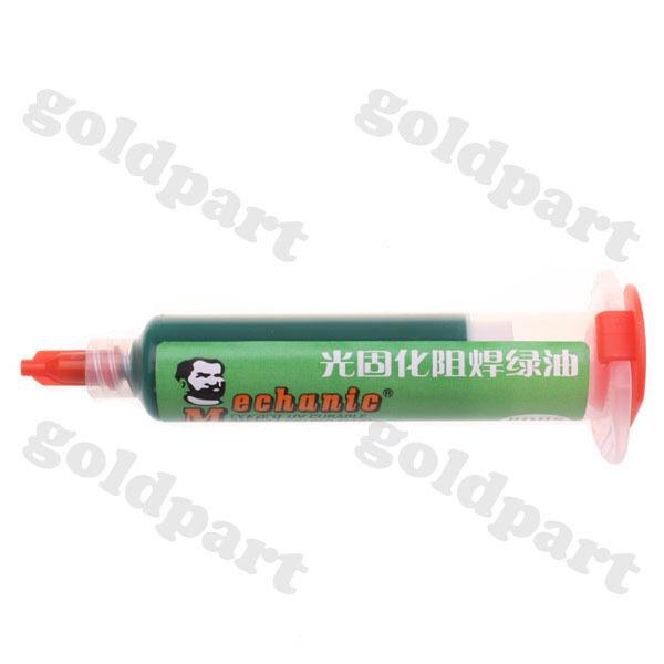 1pc PCB UV Curable Solder Mask Repairing Paint Green