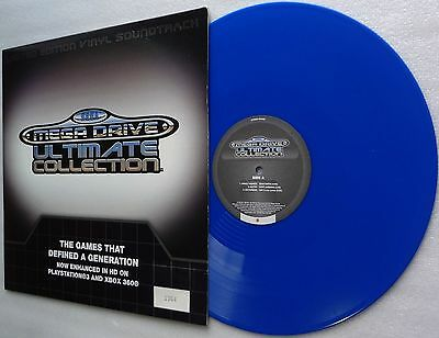 SEGA Mega Drive Ultimate Collection L/Ed VINYL RECORD Soundtrack BLUE Lp Genesis