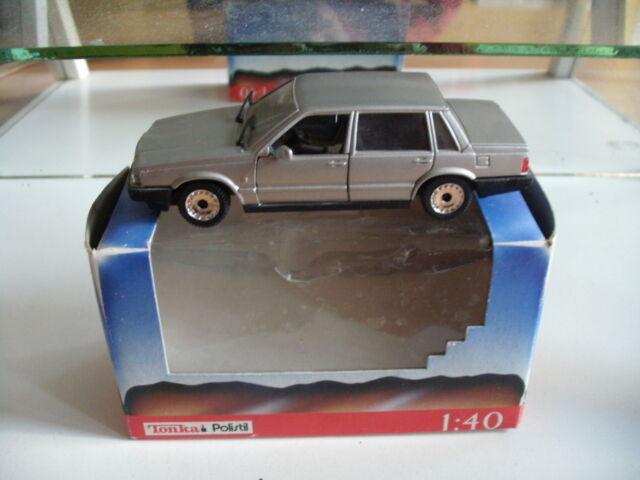 Polistil Volvo 760 GLE sedan in grey on 1:43 in box