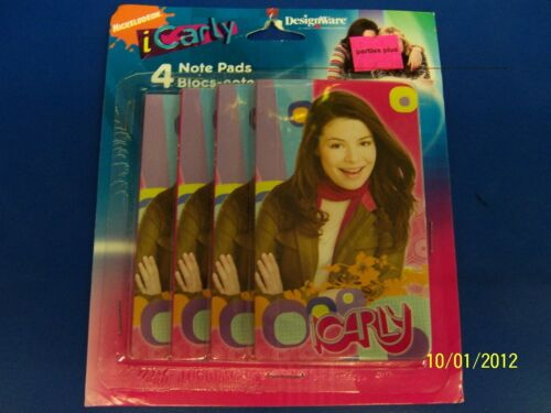 iCarly Carly Shay Nickelodeon TV Kids Birthday Party Favor Notebook Note Pads