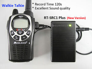 Simplex Repeater Controller for Midland GXT Radio Extend to 120 second RT-SRC1+