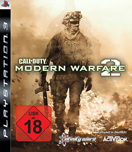 Call of Duty: Modern Warfare 2 für die PlayStation 3 / PS3 - Pforzheim, Deutschland - Call of Duty: Modern Warfare 2 für die PlayStation 3 / PS3 - Pforzheim, Deutschland