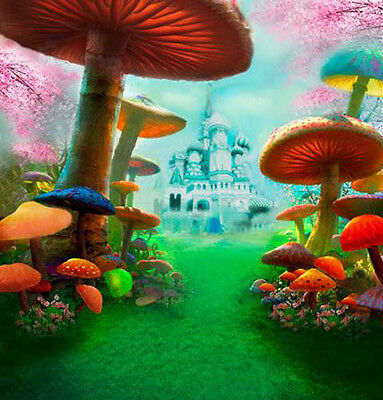 Fairy-tale 10'x10' CP Backdrop Computer-painted Scenic Background HY-CM-4372