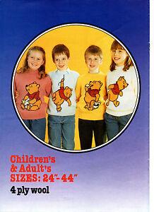 vintage-disney-s-winnie-the-pooh-sweater-knitting-pattern-book-99p