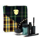 MAC A Tartan Tale Noble Knights Lash & Line Eye Bag ( 1x Fluidline, 1x Pigment, 1x Mascara, 1x Eyeliner Brush, 1x Bag ) 4pcs+1bag by MAC (M·A·C)