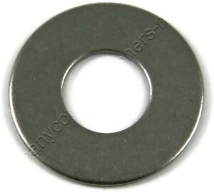 Stainless-Steel-Metric-Flat-Washer-100-PCS-3MM