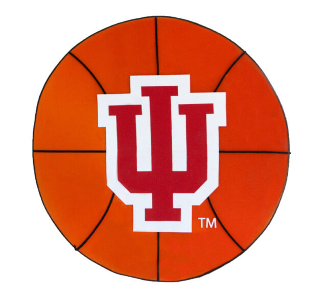 Large Indiana University Hoosiers Basketball Window Cling NCAA College Sports