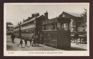 Bucks-STONY-STRATFORD-and-Wolverton-Steam-Tram-RP-PPC-1911