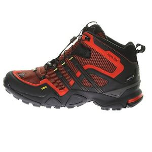 Adidas-Terrex-Fast-X-Mid-Gtx-GORE-TEX-TRAXION-FORMOTION-Boots-Shoes-Black-new
