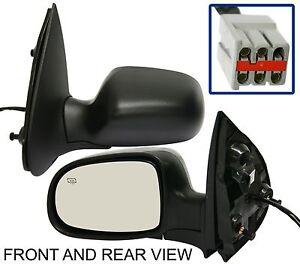 NEW-Side-View-Door-Mirror-Left-Driver-Kool-Vue-Brand-FD49EL