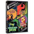 4 Film Favorites: Martial Arts (DVD, 2007)