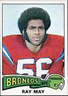 1975 Topps Ray May Denver Broncos #383 Football Card