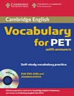 Cambridge Vocabulary for PET Student Book with Answers and Audio CD by Joanna Kosta, Sue Ireland (Mixed media product, 2008)
