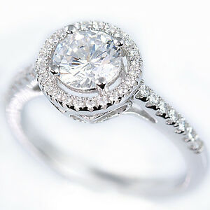 Argento-Sterling-925-Zirconia-Cubica-Rotonda-Solitario-Sposa-Anello-Fidanzamento