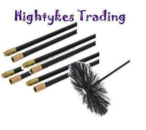 New-Chimney-Flue-Cleaning-Brush-Sweep-Sweeping-Set-Kit-Drain-Rods