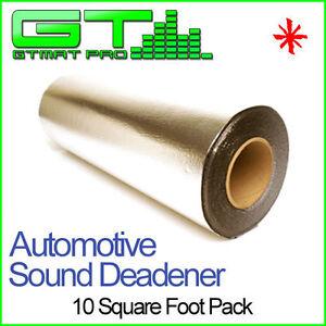 NEW-10sqft-GTMAT-50mil-Sound-Deadener-Noise-Deadening-Dampening-Insulation-Mat