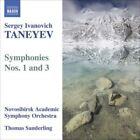 Sergey Taneyev - Sergey Ivanovich Taneyev: Symphonies Nos. 1 & 3 (2008)