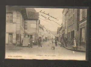 MARCIGNY-71-Commerce-CONFISERIE-Rue-LACHENALLE-Plaque-murale-CHOCOLAT-MENIER