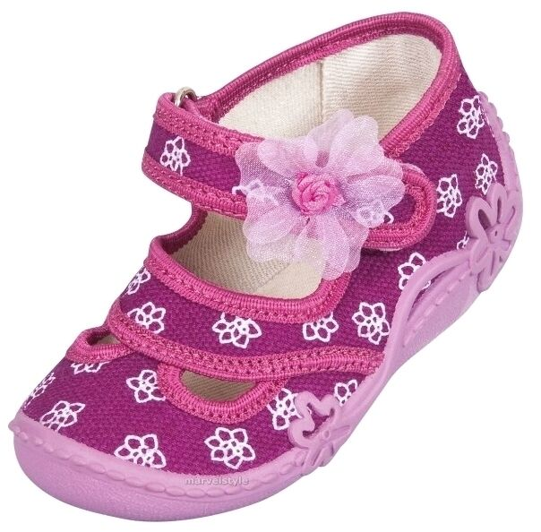 BABY GIRLS CANVAS SHOES - SANDALS - SLIPPERS UK size 3-9 /EU 20-27 BREATHABLE !