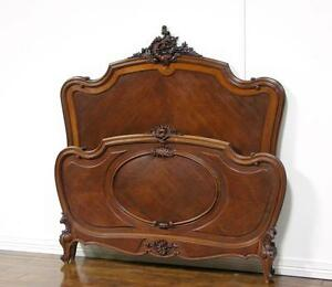 55320-ANTIQUE-FRENCH-LOUIS-XV-WALNUT-CARVED-BED