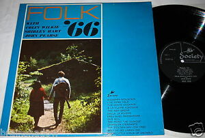FOLK-039-66-Colin-Wilkie-amp-Shirley-Hart-John-Pearse-LP-Society-Rec-UK-1966-FOLK