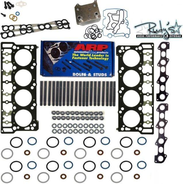 Ford 6.0 Powerstroke Black Diamond 18MM Head Gasket Replacement ARP Stud Kit NEW
