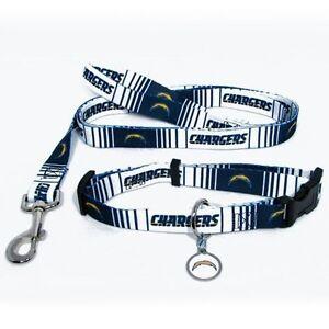San Diego Chargers Dog Collar Amp Leash Id Tag Pet Set Nfl