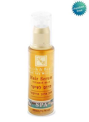 H&B Dead Sea Hair Serum Argan Oil