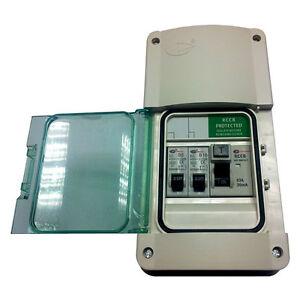 lewden e garage consumer unit fuse box rcd 2 mcb 039 s image is loading lewden e garage consumer unit fuse box