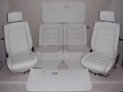 VW Golf 1 Cabrio Kunstlederbezüge Innenausstattung Sitze und Verkleidungen