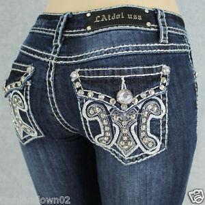 Miss-LA-Idol-Women-039-s-Jeans-NWT-Free-Shipping